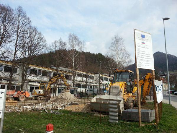 Rekonstrukcija in energetska sanacija OŠ Trbovlje se je zaključila poleti 2014.