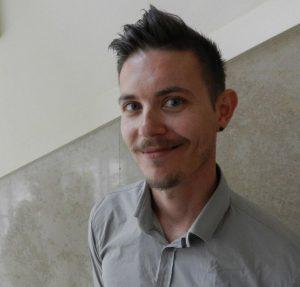Grega Likar iz Steklarne Hrastnik.