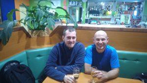 Hrvoje in Ivan- hrvaška turista v Zasavju